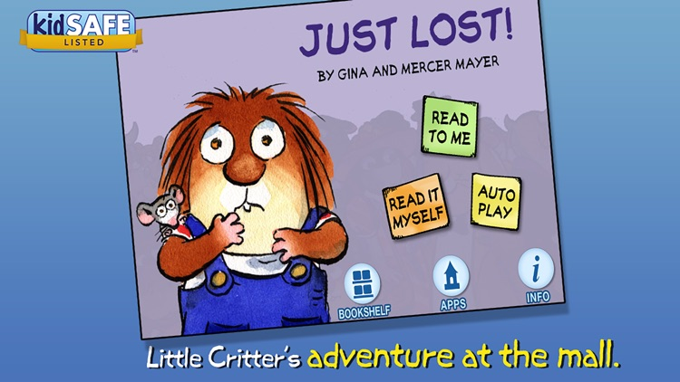 Just Lost - Little Critter screenshot-0