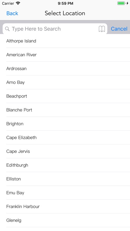SA Tide Times screenshot-2