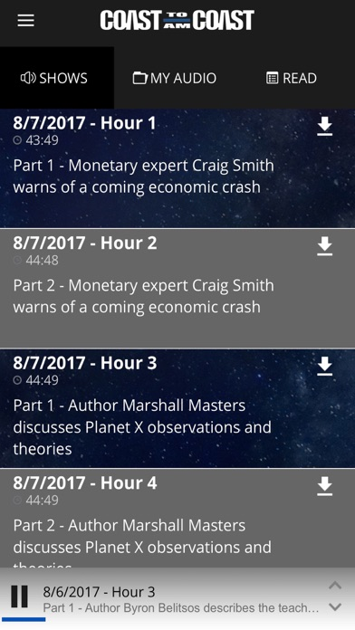 Coast to Coast AM Insider App Data & Review - News - Apps Rankings!