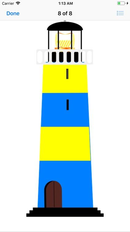 Lighthouse Stickers screenshot-8