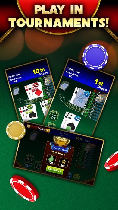 Blackjack 21 - Platinum Player screenshot 4