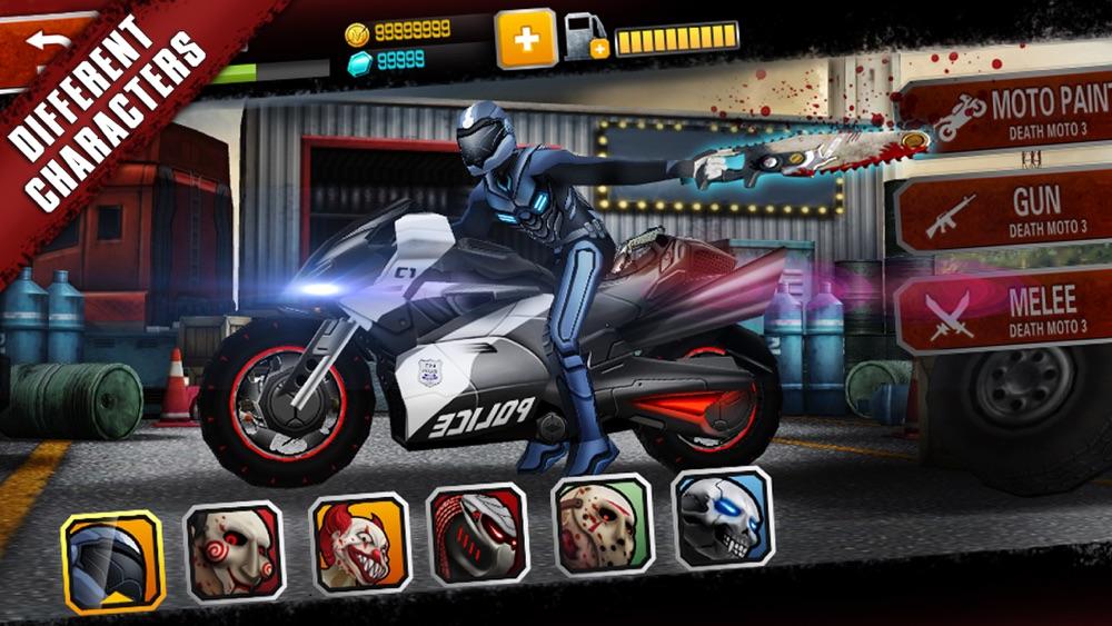 Death Moto 3 hack tool