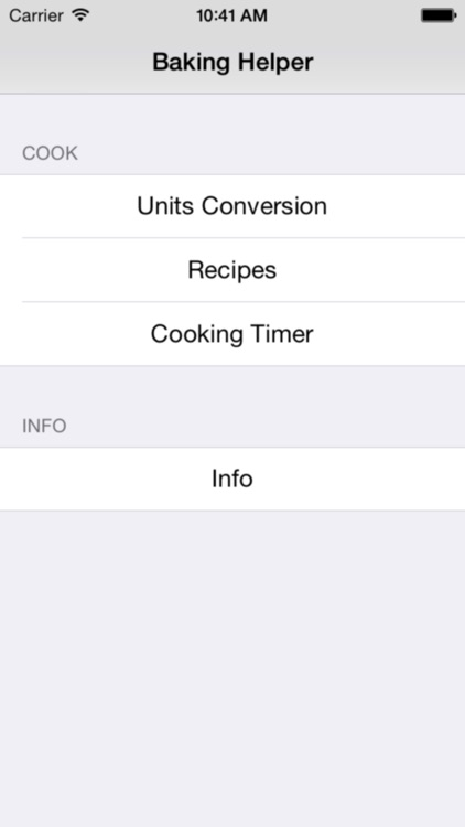 Baking Helper Lite screenshot-0