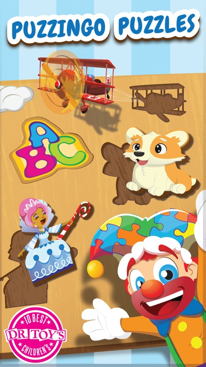 Puzzingo Toddler Kids Puzzles