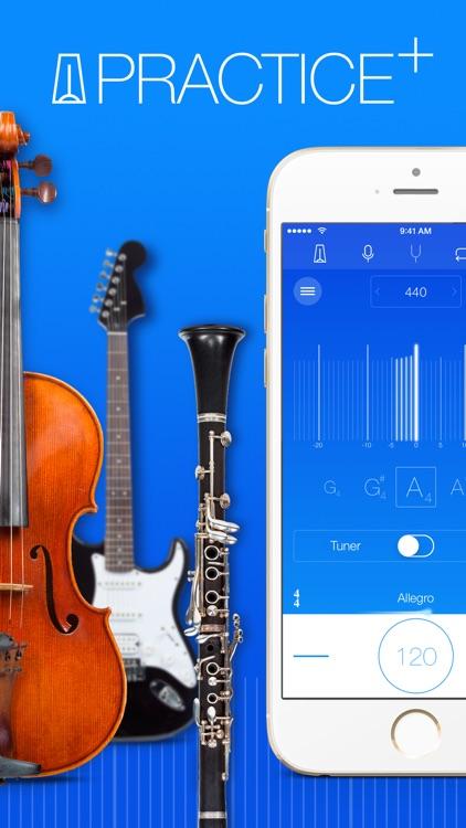 Practice+ Tuner & Metronome screenshot-0