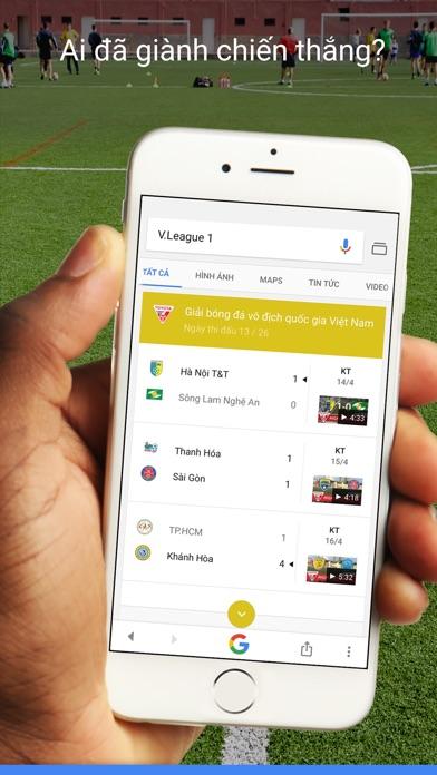 Screenshot for Google in Viet Nam App Store