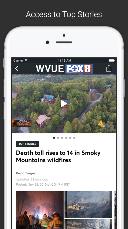 FOX 8 WVUE Mobile screenshot-1