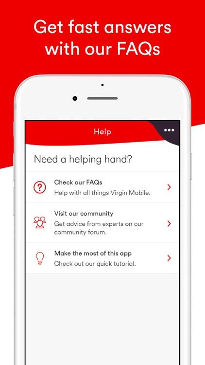 Virgin Mobile Account screenshot-5