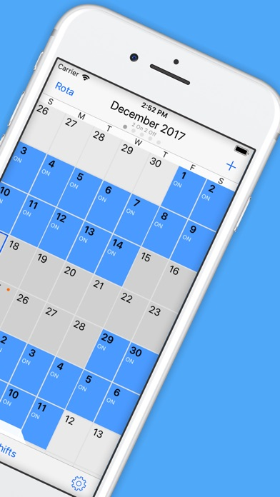 Rota Calendar review screenshots