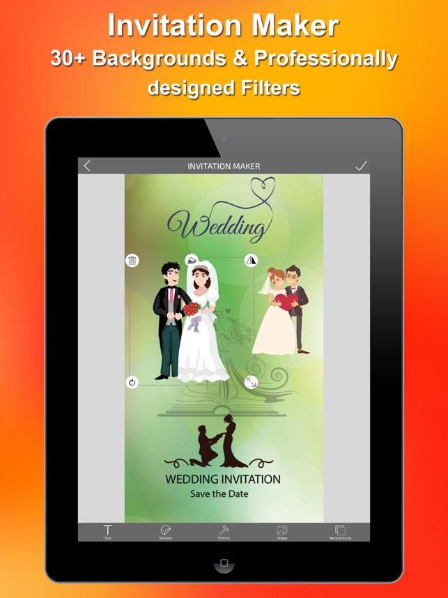 Invitations maker na app store stopboris Choice Image