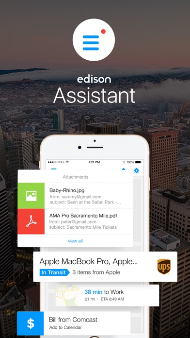 Edison Assistant app image
