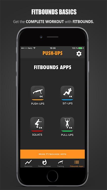 Fitbounds Push-Ups PRO Workout screenshot-4