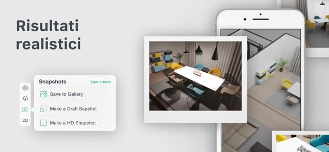 Planner5d design degli interni su app store for Planner 5d design d interni
