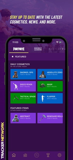 iphone screenshots - how to see your stats on fortnite