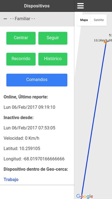 Kiwi GPS screenshot three