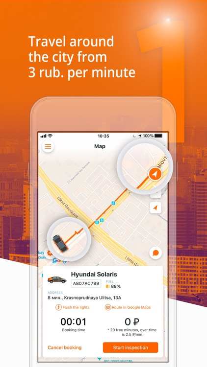 Delimobil – your carsharing screenshot-0