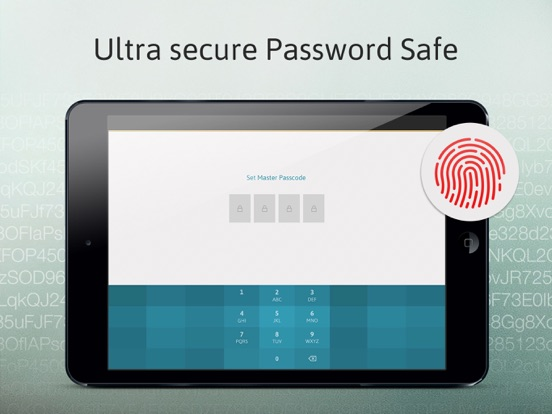Password Manager: Passible-ipad-1
