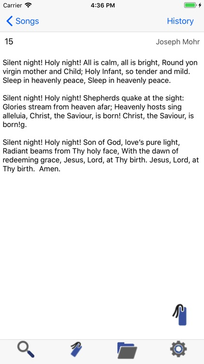 Hymns and Songs of Zion screenshot-2