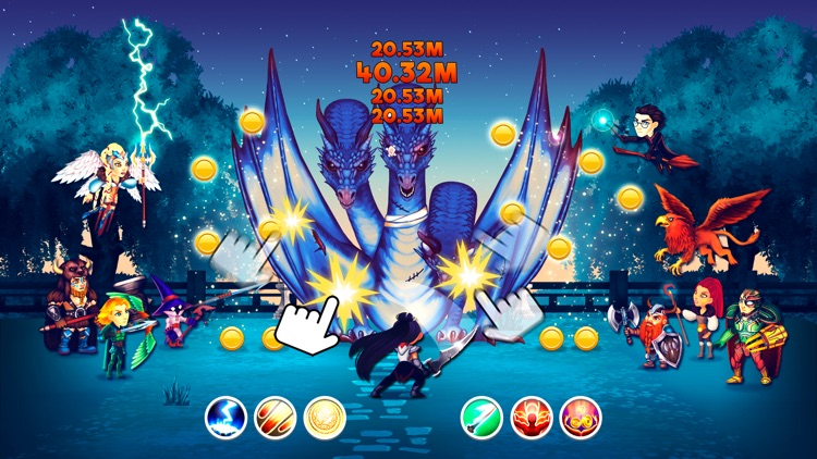 Tap Dragons - Clicker Heroes RPG Game screenshot-3
