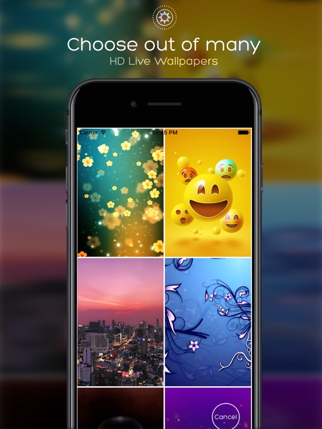 GearTheme - Live Wallpapers HD Screenshot