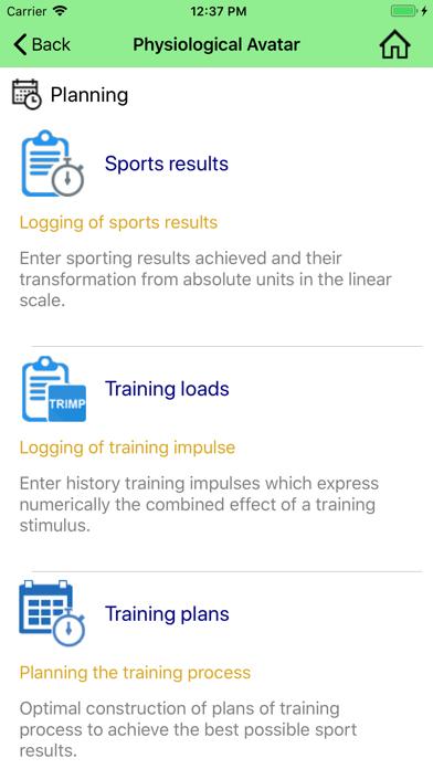 Training Impulse
