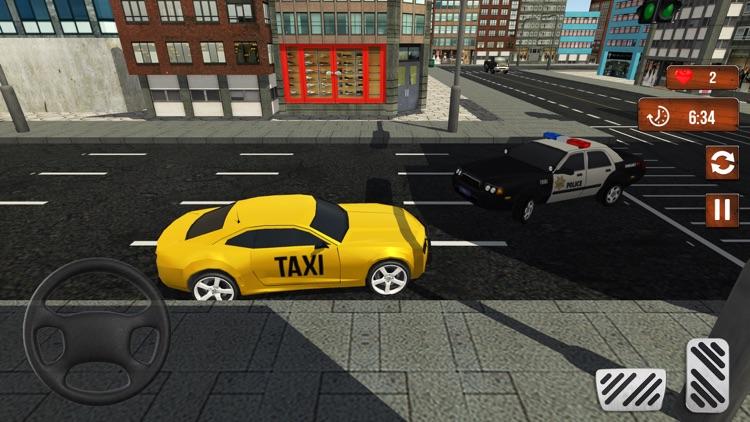 Taxi Cab Driver Simulator 3D