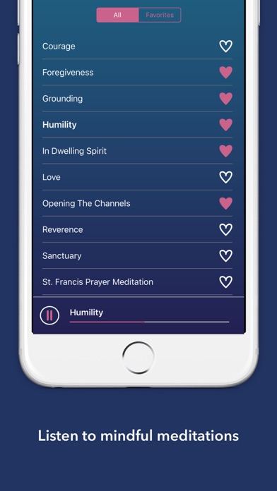 Mindful Living Meditations screenshot 1