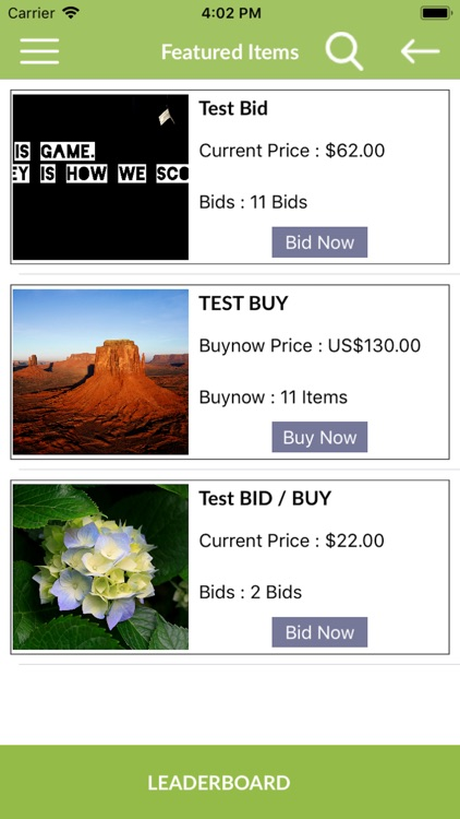 SilentAuction-Auctionsoftware screenshot-4
