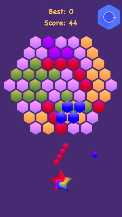 Hexagonal Merge : Premium screenshot 3