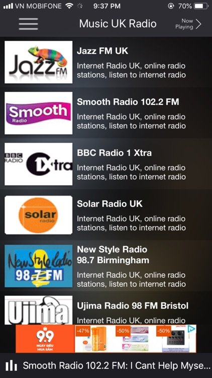 News & Music UK radio station