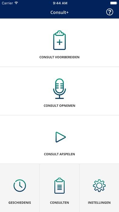 Consult+ Screenshot