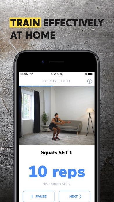BetterMen: Workout Trainer Screenshot 3