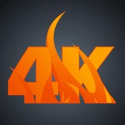 4K Fireplace