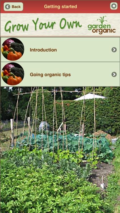 Growing Organic Vegetables