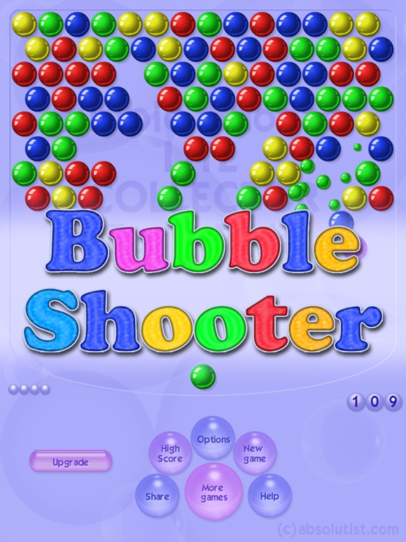 Игра Bubble Shooter Classic HD