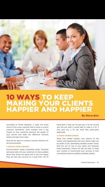 Fearless Netpreneur Magazine screenshot-3