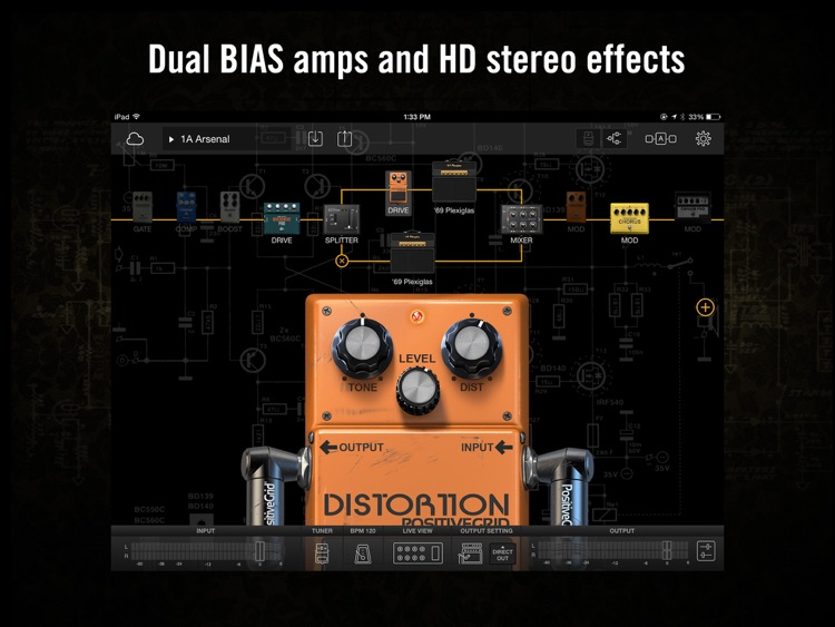 BIAS FX: Guitar Amp & effects