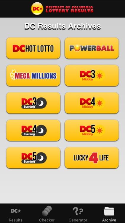 DC Lottery Results screenshot-4