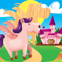Animated Animal & Horse Puzzle For Babies and Small Kids: The Magic World With Horses! Free Kids Lea...