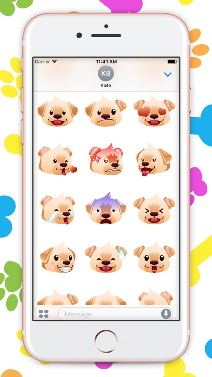 MyLab: Ultimate Labrador Emojis screenshot-1