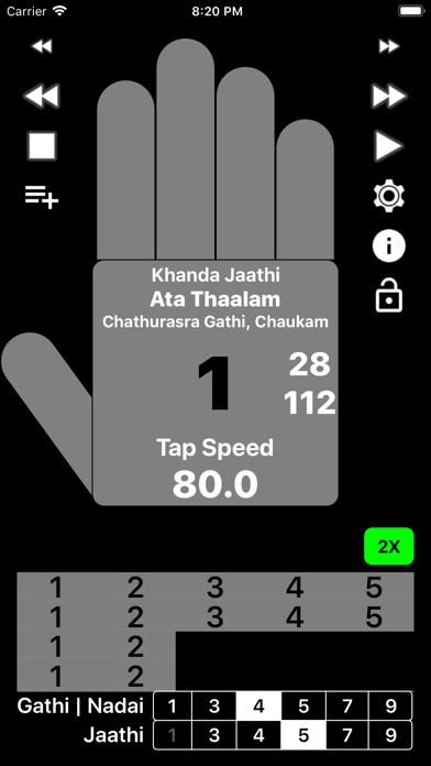Carnatic Thaalam Robot