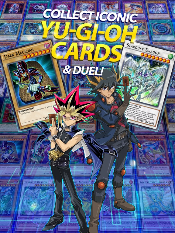 Join one of your favourite heroes in this intense battle of cards! Yu-Gi-Oh! Duel Links is the game that allows you to battle against monsters, other enthusiasts and ...