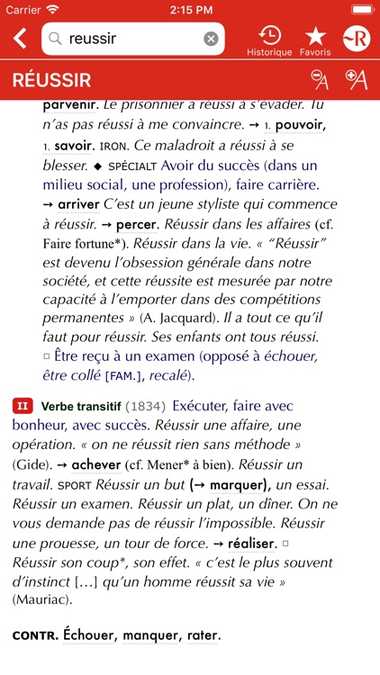 Dictionnaire Le Petit Robert screenshot-5