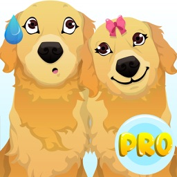 Golden Retriever Emoji Pro