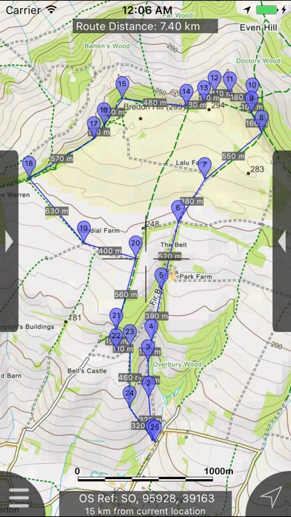 Cotswolds Maps Offline screenshot-0
