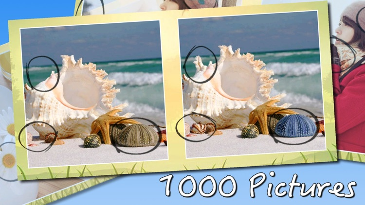 1000 Photos Difference Game