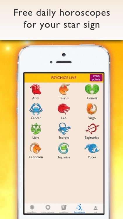 Psychics Live Horoscopes Tarot screenshot-3