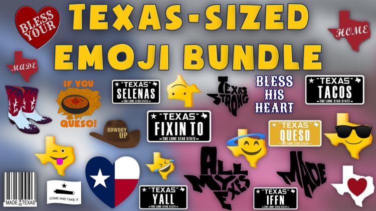 Texas Emoji - Texan Stickers screenshot-4