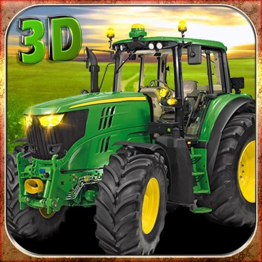 Реал Трактор Фермы симулятор 3D