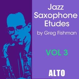 Jazz Sax Etudes Vol 3 Alto